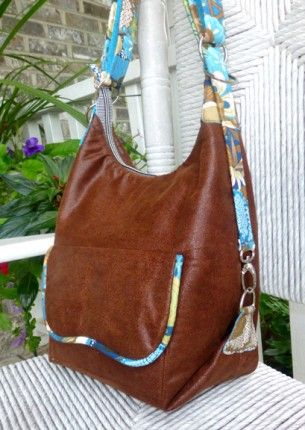 Cosmo Convertible bag - free pattern
