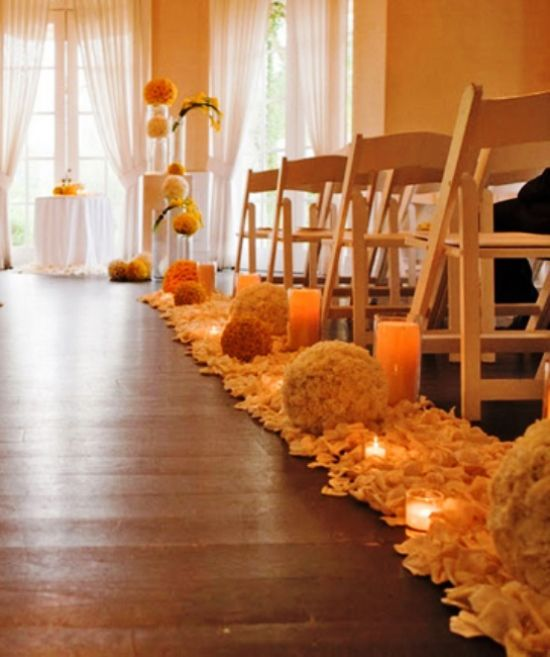 Mint Color Outdoor Ceremony Decorations: 33 Best Images About Indoor Wedding Ceremony On Pinterest