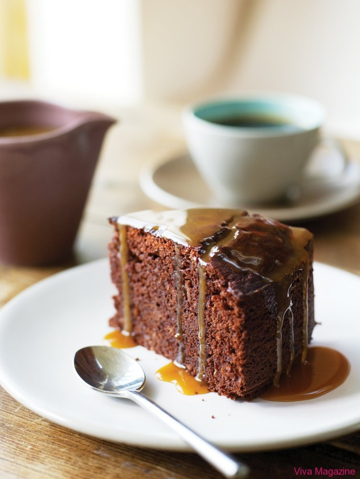 CHOCOLATE STICKY TOFFEE PUDDING CAKE | cakes | Pinterest