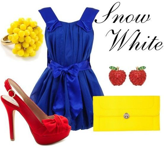 Disney-inspired Outfits for Women | Snow White - 9 Disney Inspired Outfits ... | All Women Stalk