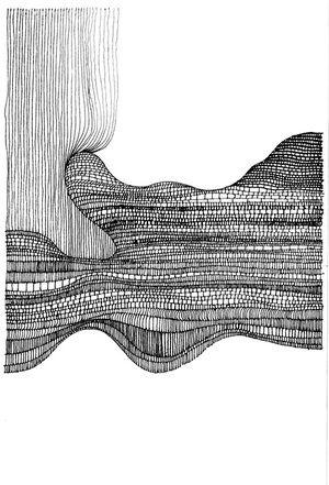 line drawing by ilan katin