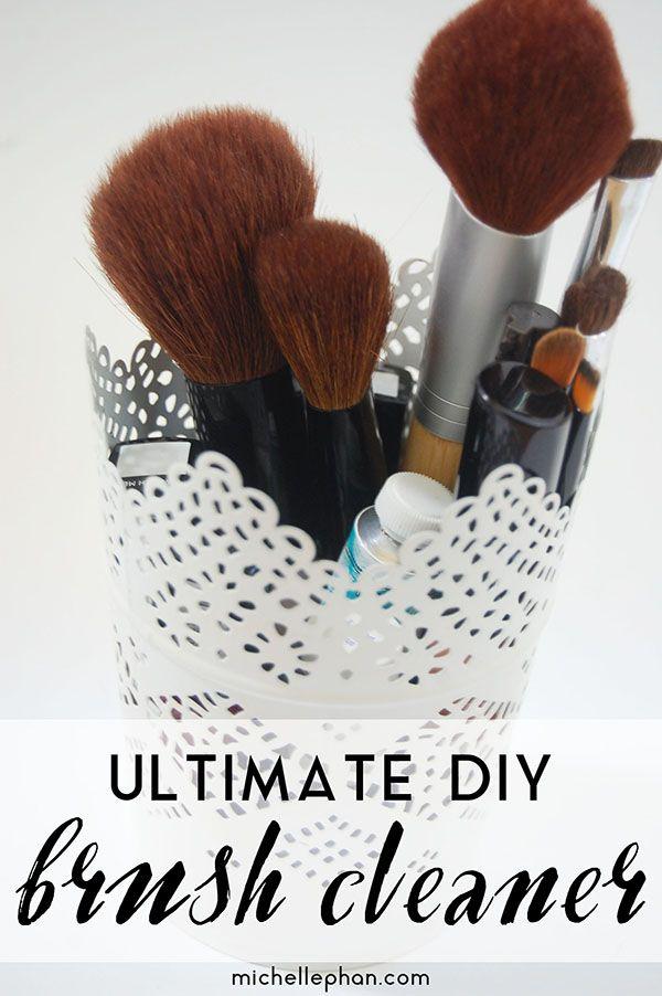 My Ultimate DIY Brush Cleaner - MichellePhan.com – MichellePhan.com