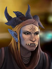 Troll Female Shadowrunners Portraits from Shadowrun Returns and Shadowrun Dragonfall. Shadowrun Portrait Posts