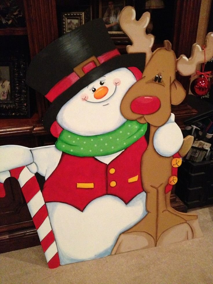 Images about christmas yard decorations wood on