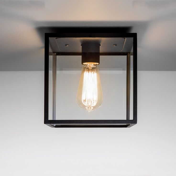 Pendant ceiling mounted lights the box is a simplistic exterior ceiling light can be fitted with a max incandescent lamp finished in a classic black