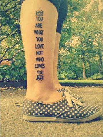 20. Save Rock and Roll Lyrics | Community Post: 27 Fall Out Boy Tattoos You Wish You Had