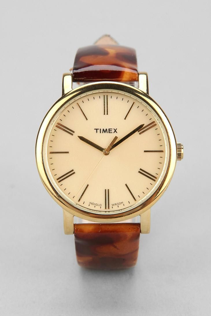 Timex Original Tortoise Watch #urbanoutfitters