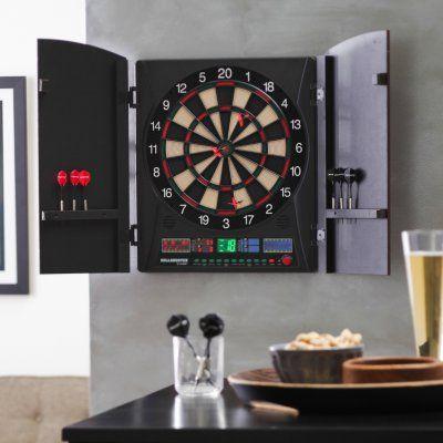 Bullshooter by Arachnid Marauder 5.0 Electronic Dart Board Complete Set - EDBW660