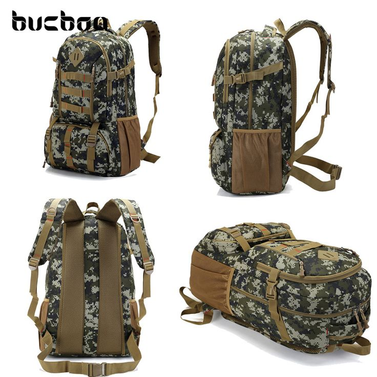 Buy Large Waterproof Camo Military Tactical Backpack Mountaineer Hiking Camping Hunting Backpack Outdoor Sports Bag Rucksack HAB337 at www.itsjustshopping.com! Free shipping to 185 countries. 45 days money back guarantee.