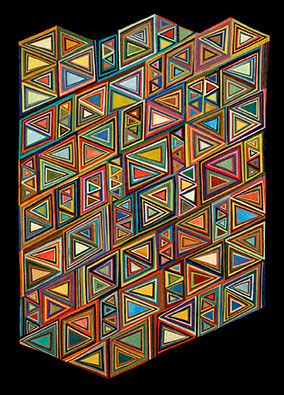 Triangular Colors: Nancy CordyQuilt Inspiration, Amazing Quilt, Quilt Triangles, Quilt Quilt, Art Quilt, Quilt Taste, Quilt 101, Mmmm Quilt, Interesting Quilt