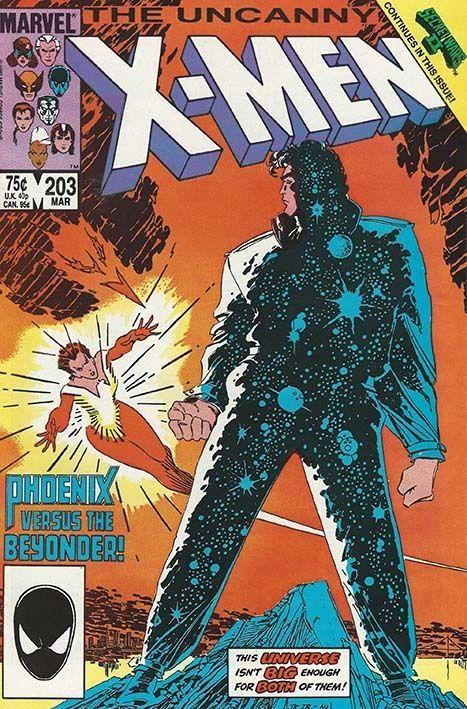 The Uncanny X-Men (Secret Wars 2 Tie In) #203 - 1986 on auction. Starting bid 95p