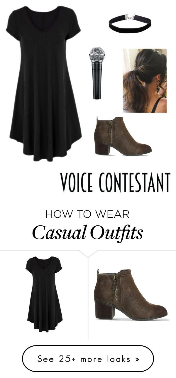"""""""Casual Rock"""" by chisled on Polyvore featuring Miss Selfridge, Office, thevoice and YahooView"""