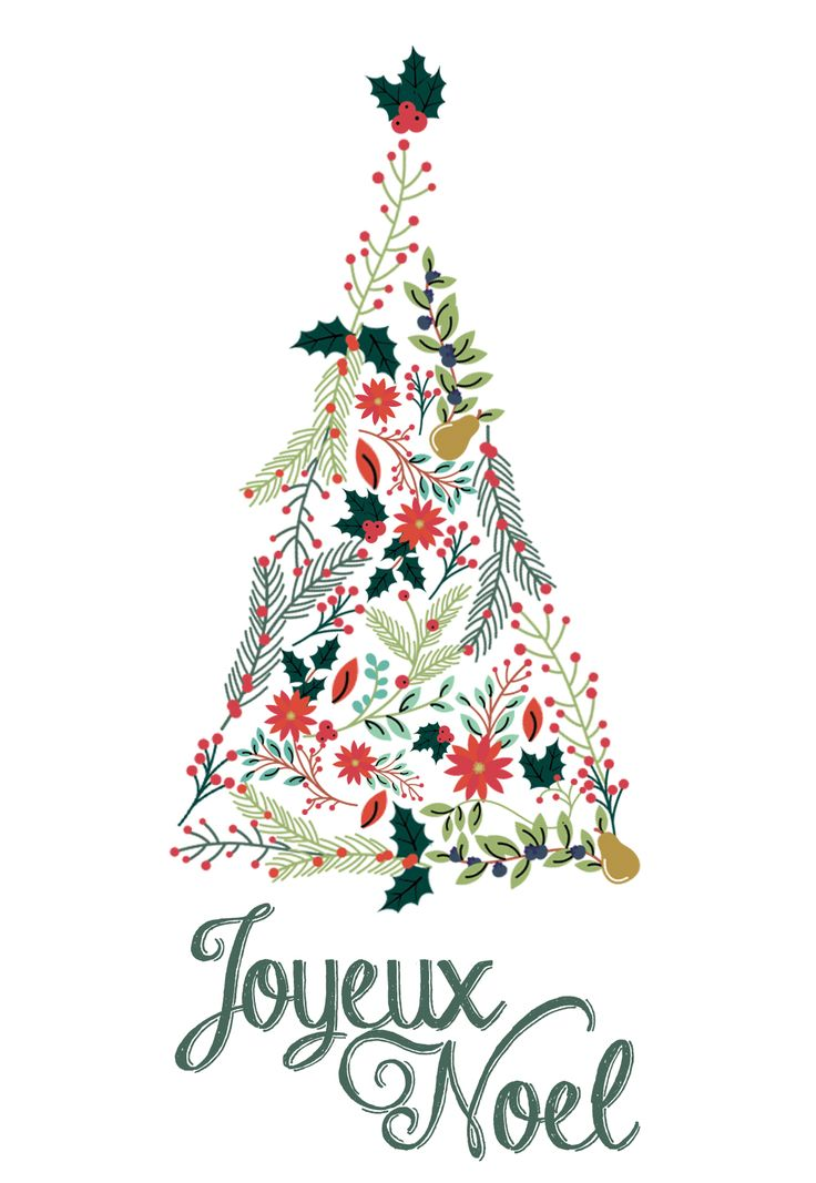 1000 id es sur le th me illustration de no l sur pinterest v ux de no l - Deco sapin de noel ...