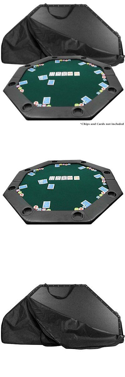 Poker Chips 166570: 51 X 51 Inch Octagon Padded Poker Tabletop Greenpoker Layout, Green, New -> BUY IT NOW ONLY: $78.25 on eBay!