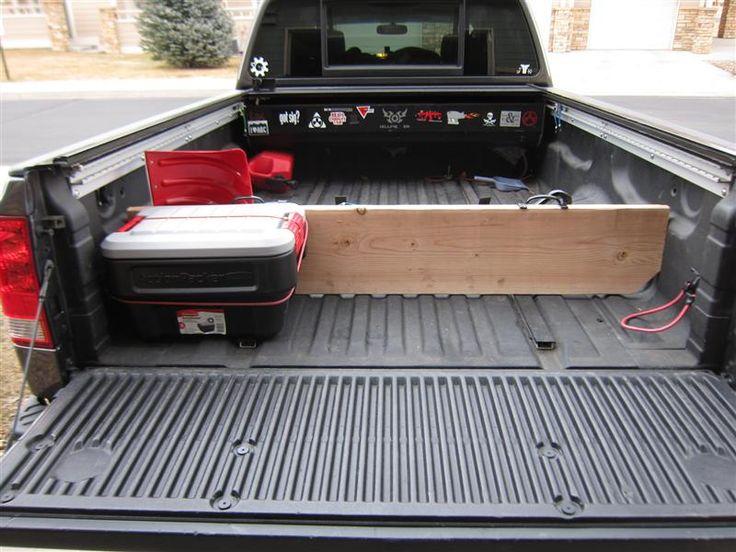Truck Bed Divider | Tech | Pinterest | Homemade, Trucks ...