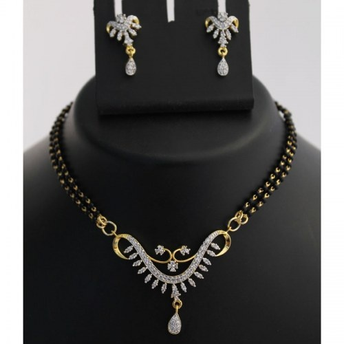 Stunning Mangalsutra Necklace Set