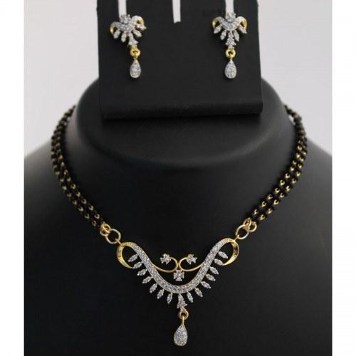 Stunning Mangalsutra Necklace Set