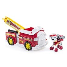 Paw Patrol - Marshalls All Stars Fire Truck - Vehicle and Figure