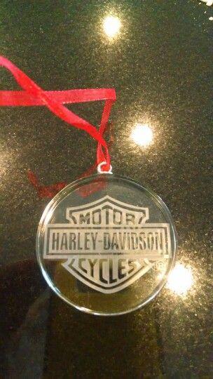 Harley Davidson Ornament