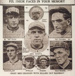 Aug. 3, 1921 – Major League Baseball Commissioner Kenesaw Mountain Landis confirms the ban of the eight Chicago Black Sox, the day after they were acquitted by a Chicago court.  #MLB #Baseball  Click pic to read more...