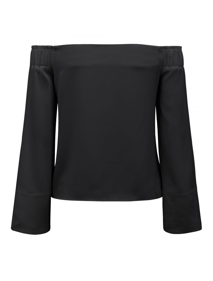 Discover a new wardrobe favourite and channel chic sophistication with our Issy Off Shoulder Flare Sleeve Top, sure to see you transition effortlessly from day to night.
