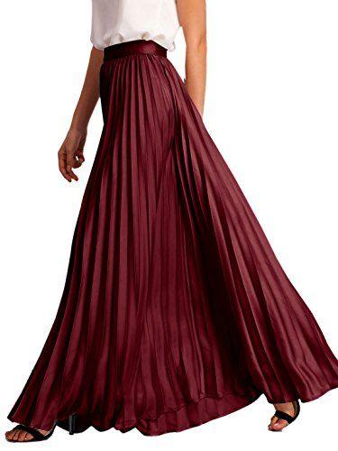 ROMWE Women's Pleated Maxi Skirt - Medium - Burgundy Romwe https://smile.amazon.com/dp/B01KNJN8QA/ref=cm_sw_r_pi_dp_x_-M.8ybBJMEEVQ