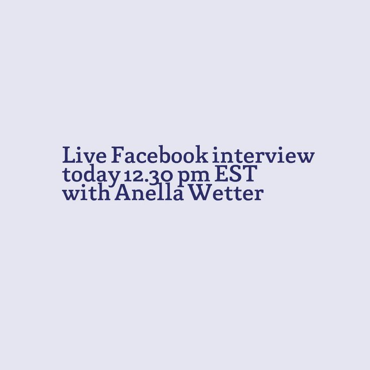 I wish to invite you to join my interview with Anella Wetter on Facebook Live TODAY at 12.30 pm EST. Learn how to improve your Self-Love and manifest the kind of relationship you want and deserve. http://conta.cc/2pNnyKl #selflove #loveyourself #findyoursoulmate #relationship #love #soulmate