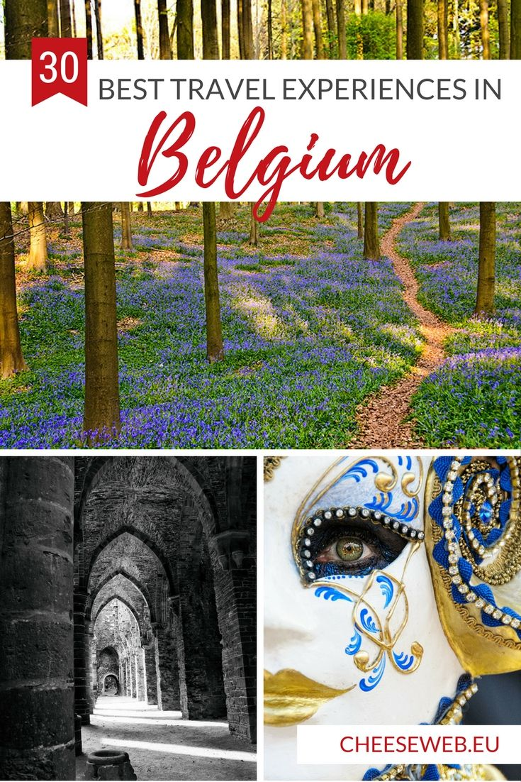 To celebrate my 40th birthday, I'm sharing the 30 best travel experiences I had in Belgium during my thirties!