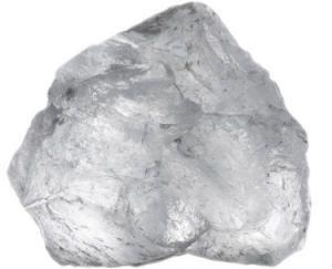 Piedra ALUMBRE: el mineral de alumbre ha sido utilizado como desodorante para controlar el olor corporal y para evitar la irritación de la piel después del afeitado o la depilación, entre otras muchas aplicaciones.