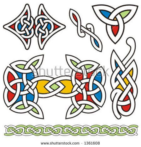 Image result for celtic color vector art