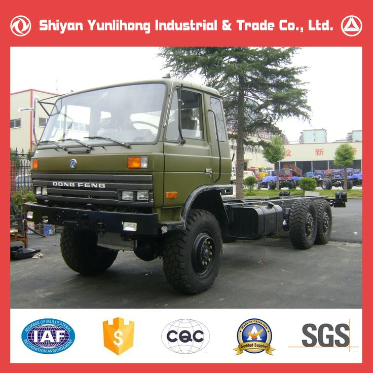 Dongfeng Off Road 6x6 Ex Army Trucks For Sale /Off Road Truck Chassis