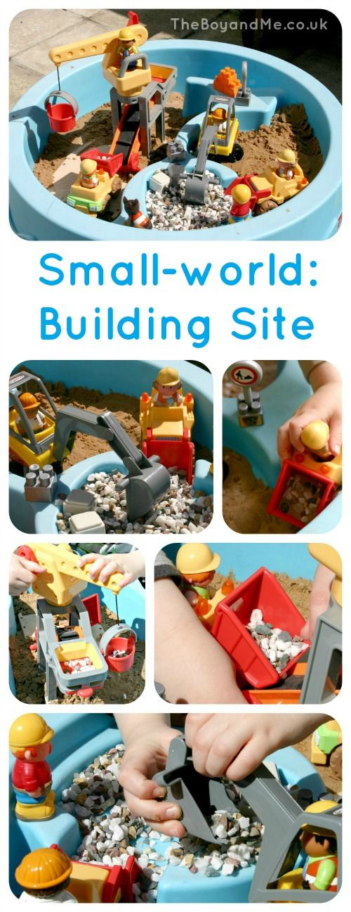 """TheBoyAndMe - Small World Building Site ("""",)"""