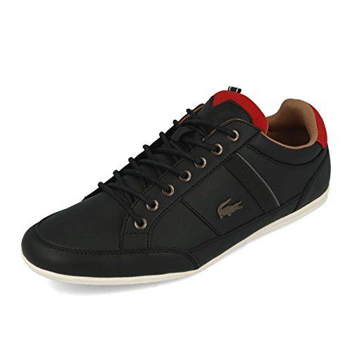 8becc368bded Lacoste Chaymon 118 2 Cam Black Red 43 Lacoste https   www.amazon