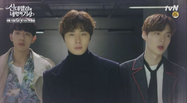 We finally get a glimpse of the upcoming reverse harem drama Cinderella and the Four Knights.  I totally approve of all the eye candy in the first teaser. #JongIlWoo  https://dramaswithasideofkimchi.wordpress.com/2016/07/08/cinderella-and-the-four-knights-has-a-khottie-filled-1st-teaser/
