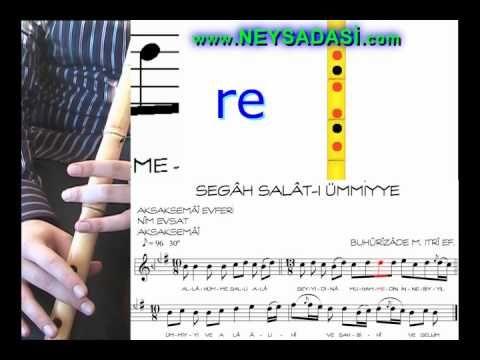 Ney Dersi -2 Salat-ı Ümmiye (www.neysadasi.com) - YouTube