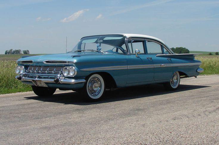 1959 Impala Chevrolet four door sedan