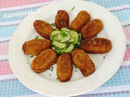 Crocchette di melanzane http://www.ilcuoreinpentola.it/ricette/crocchette-di-melanzane/