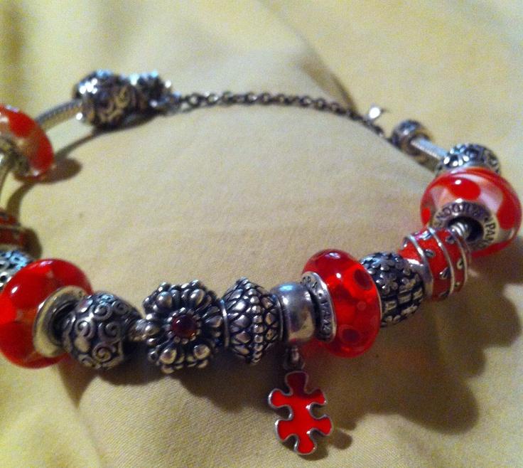 Autism Charms For Pandora Bracelets: Share Your Design! Images On Pinterest