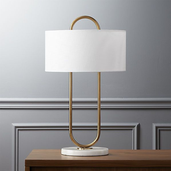 warner table lamp  | CB2