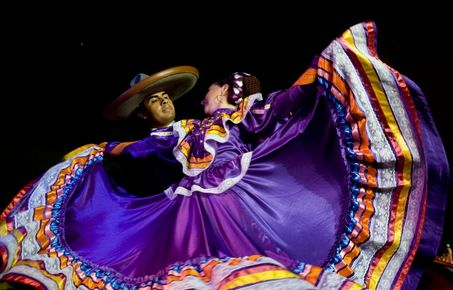 Dance form the region of Jalisco, Mexico