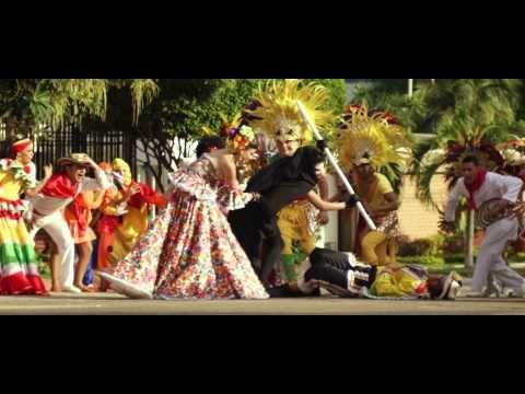 'Muévete y Pégate' - Video oficial del Carnaval de Barranquilla 2015 - YouTube