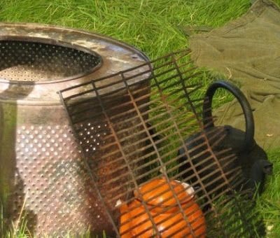 The Bridge Cottage Way: Reduce, Reuse, Recyle and Upcycle - Washing Machine Drum Barbeque