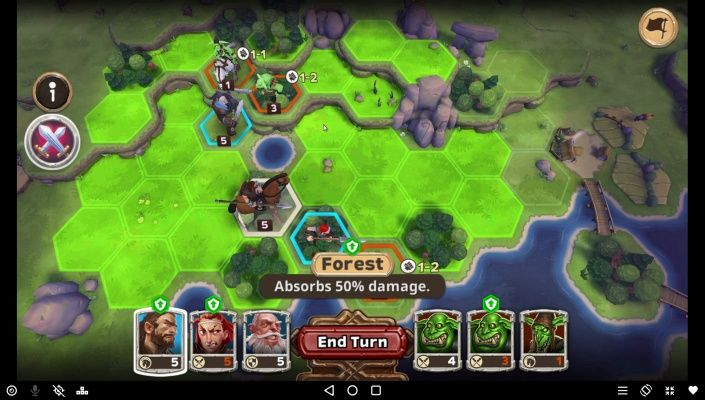 Warlords Turn Based Strategy is a Free-to-play Android, Strategy Multiplayer Game where every move matters.