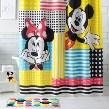 Disney's+Mickey+&+Minnie+Mouse+Shower+Curtain+Collection+by+Jumping+Beans