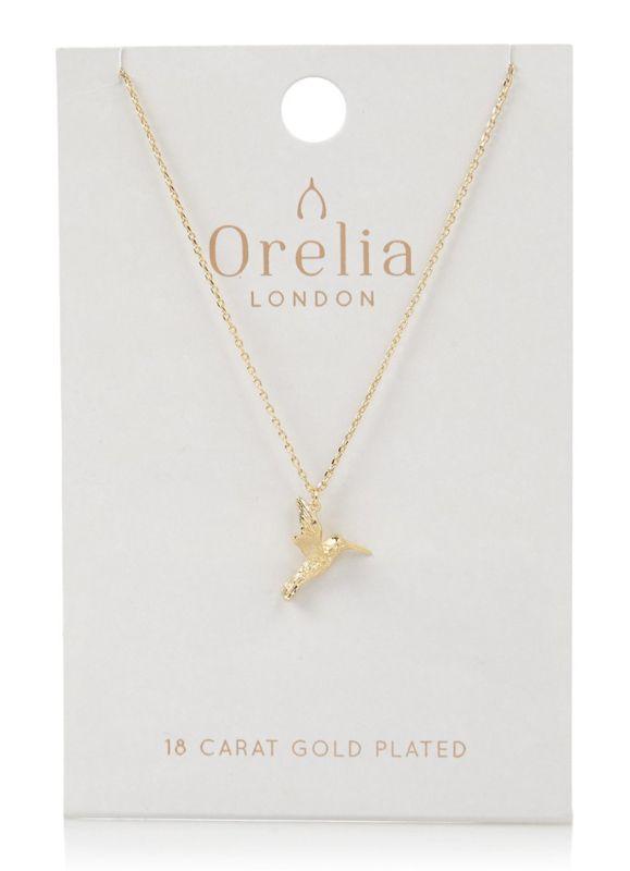 Charmant, subtiel en vrolijk: deze gouden ketting van Orelia.       Materiaal: messing, verguld met 18 karaat goud    https://www.holycowshop.nl/a-47393682/kettingen/gouden-kolibrie/
