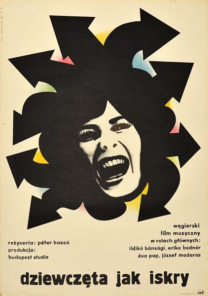 """LECH MAJEWSKI, """"Dziewczęta jak iskry"""". Reżyseria: Peter Basco, 1974."""