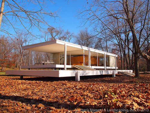 Ludwig Mies van der Rohe  - The Farnsworth House 1945-51