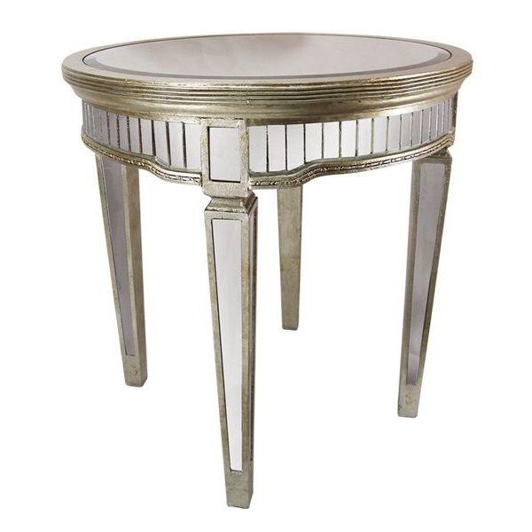 Vavoom Emporium - Antique Mirror Round Table 4 legs, $634.00 (http://www.vavoom.com.au/antique-mirror-round-table-4-legs/)
