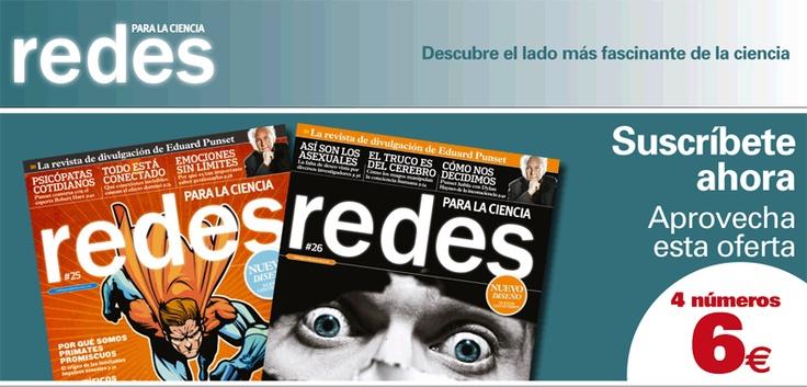 Suscripción a la revista Redes Para la Ciencia