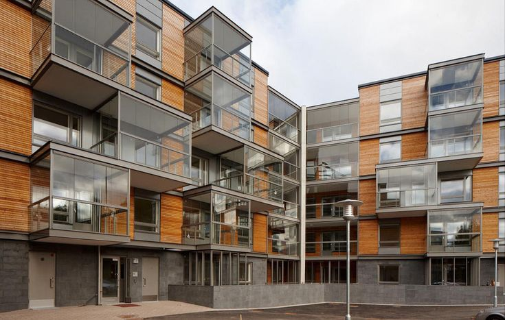 Ruotutorppa Social Housing By Hannunkari & Mäkipaja Architects